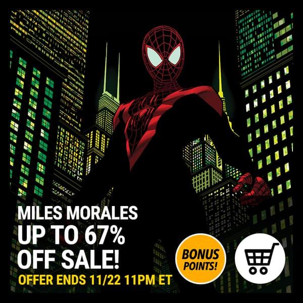 Marvel Insider DIGITAL COMICS SALE Purchase Miles Morales comics now on sale