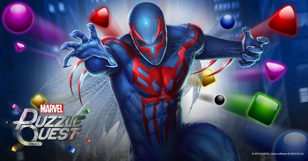 Spider-Man 2099 Puzzle Quest