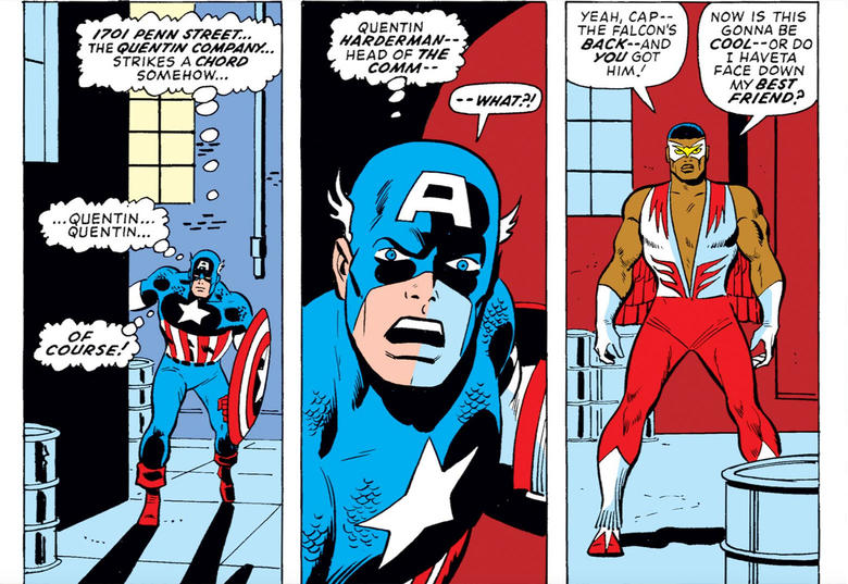 Captain America (Steve Rogers) In Comics Powers & Villains