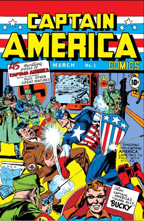 Captain America Origin