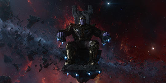 Thanos In Chair