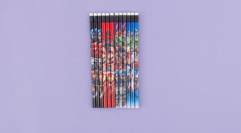 Marvel pencil set