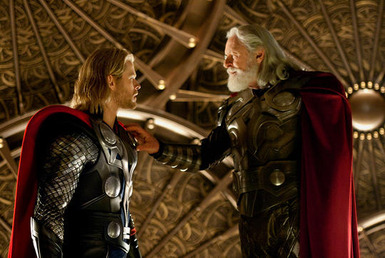 Thor & His Father, Odin