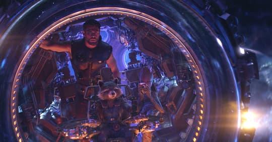 Thor, Rocket, & Groot