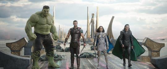 Thor, Hulk, Valkyrie, & Loki
