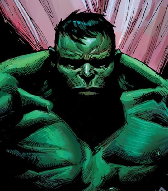 Hulk Bruce Banner Card