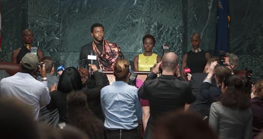 T'Challa's Press Conference