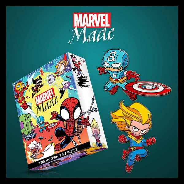 Marvel Insider Marvel Made Blind Boxes