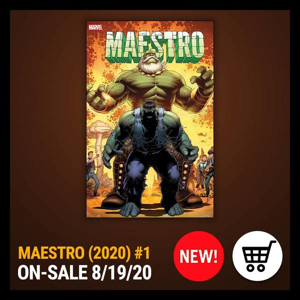 Marvel Insider MAESTRO (2020) #1