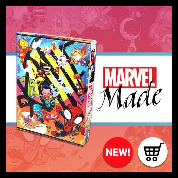 Marvel Insider Marvel Made Purchase the Skottie Young Premier Bundle