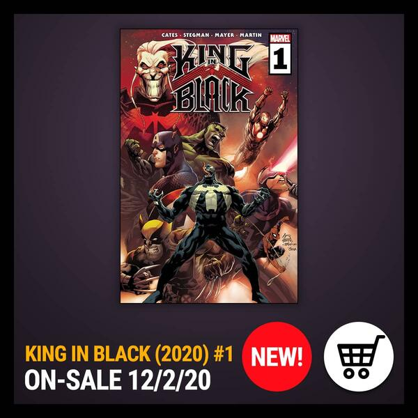 Marvel Insider GET THE COMIC OF THE WEEK KING IN BLACK (2020) #1