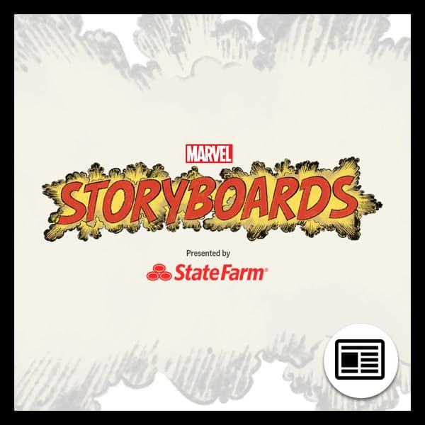Marvel Insider Marvel's Storyboards Digital Series