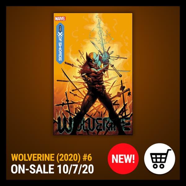 Marvel Insider WOLVERINE (2020) #6