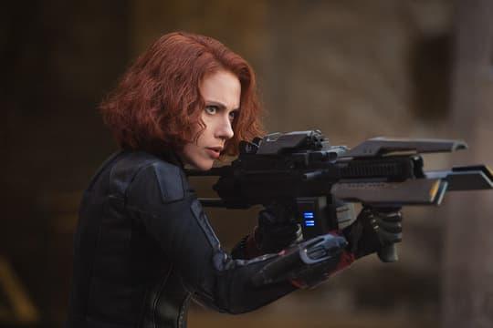Natasha demonstrates her weapons proficiency