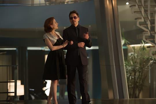 Natasha and Tony