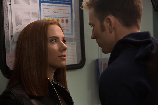 Natasha and Steve Rogers