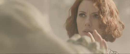 Natasha calms down Hulk