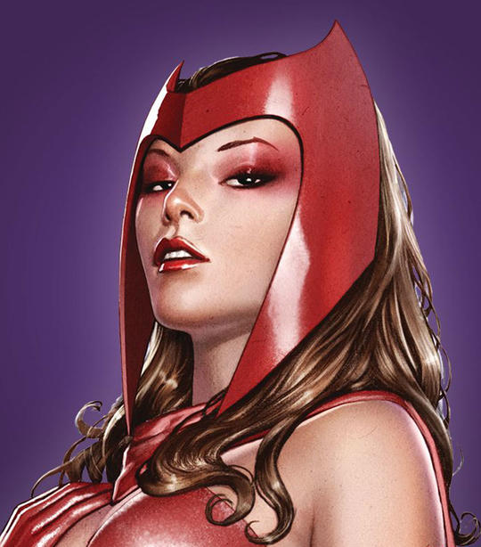 Scarlet Witch Card