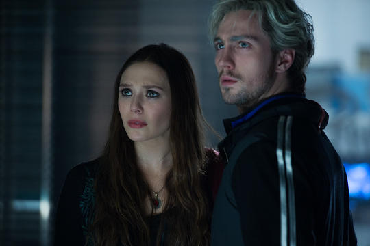 Scarlet Witch (Wanda Maximoff) and Pietro Maximoff