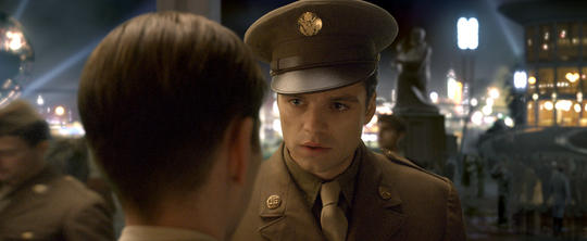 Bucky Barnes enlisting in World War II