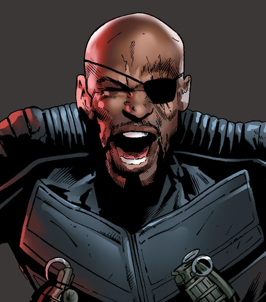 Nick Fury Jr Card