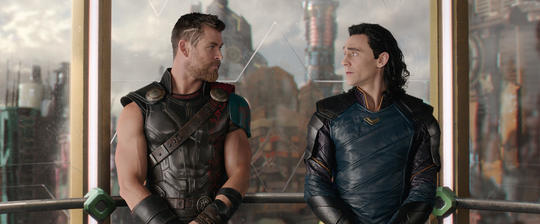 Thor continually believes in Loki's ability to be more.