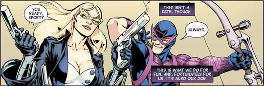 Hawkeye and Mockingbird