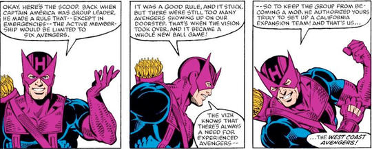 Hawkeye kicks off the West Coast Avengers.