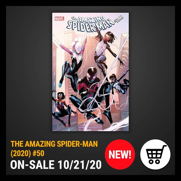 Marvel Insider Comic of the Week THE AMAZING SPIDER-MAN (2020) #50