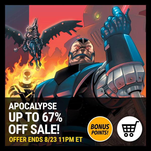 Marvel Insider Apocalypse Digital Comics Sale