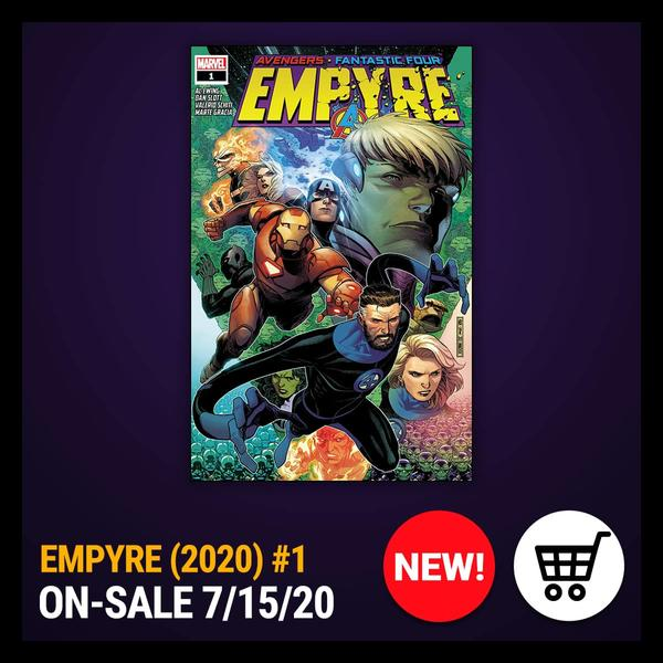 Marvel Insider Purchase the issue EMPYRE (2020) #1