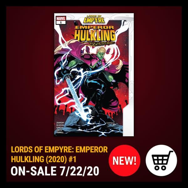 Marvel Insider LORDS OF EMPYRE: EMPEROR HULKLING (2020) #1