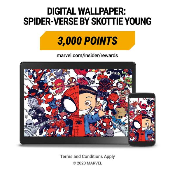 Marvel Insider Featured Reward: Video Background