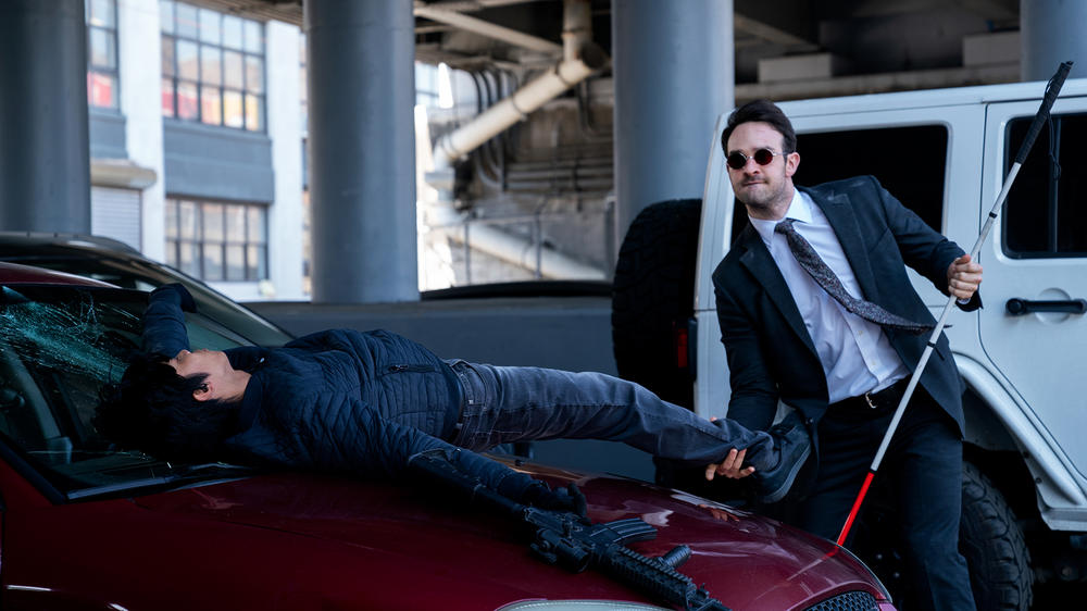 "Charlie Cox as Matt Murdock in ""Marvel's Daredevil"" Season 3"