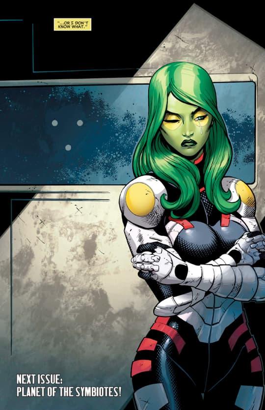 Gamora's Skeleton Armor