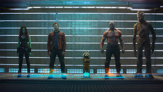 Gamora & the Guardians of the Galaxy