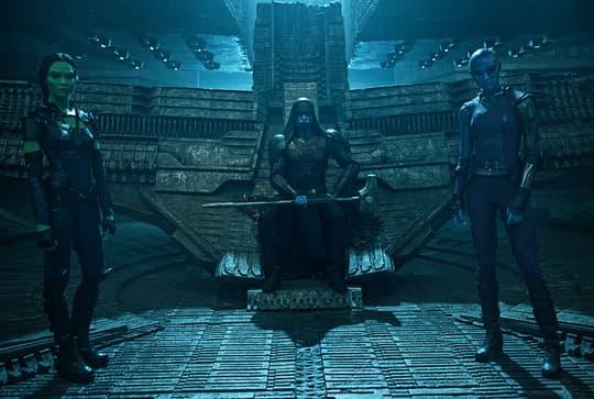 Gamora, Nebula, & Ronan
