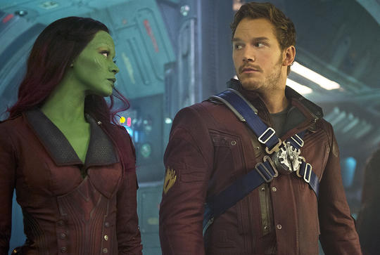 Gamora & Star-Lord (Peter Quill)