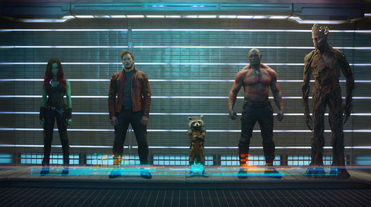 Rocket Raccoon & the Guardians of the Galaxy