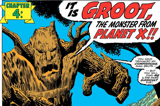 Groot is from Planet X