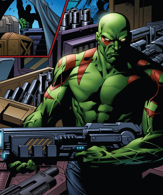 Drax ready for battle