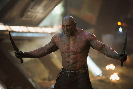 Drax with his Dual Knives