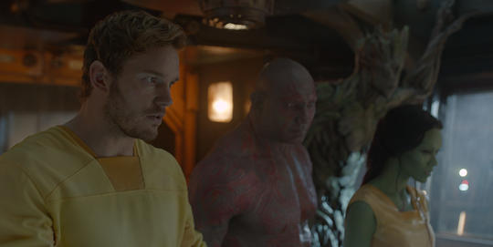 Drax with Star-Lord