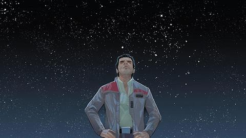 Image for Poe Dameron Soars into 'Star Wars: The Force Awakens'