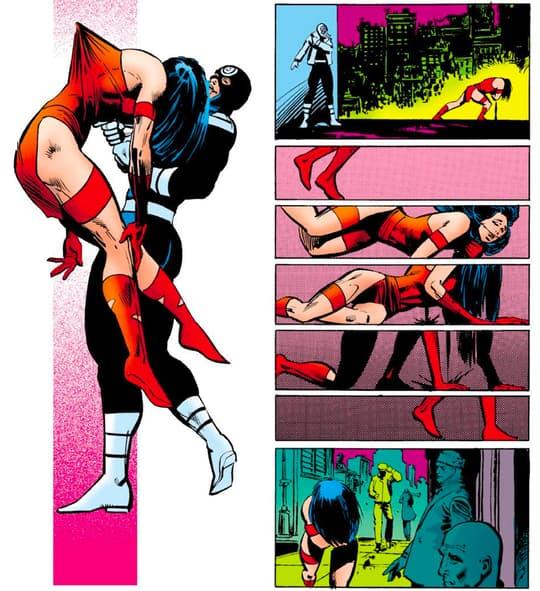 Bullseye murders Elektra.