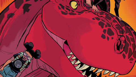 Image for Coloring Moon Girl and Devil Dinosaur