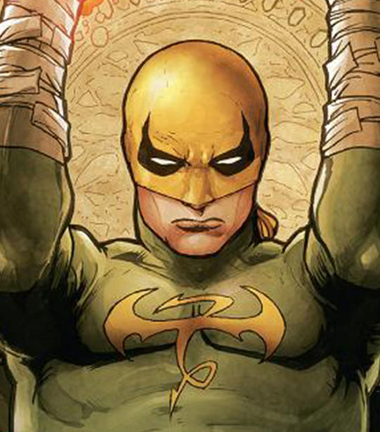 Iron Fist Card