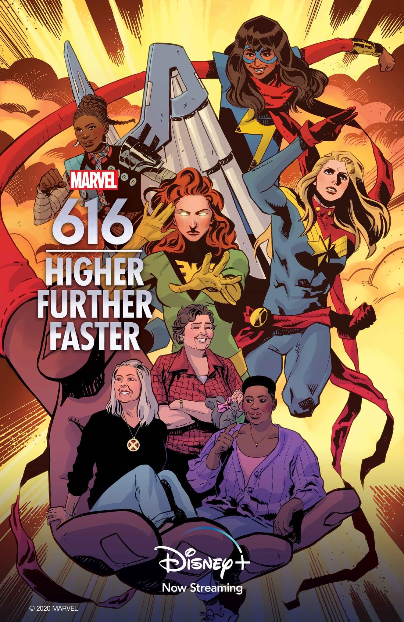 Marvel's 616 Higher Further Faster