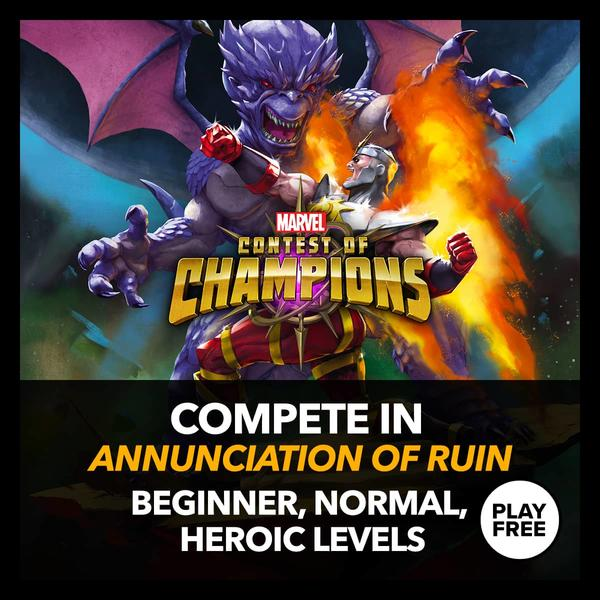 Marvel Insider MarvelContest of Champions: Annunciation of Ruin
