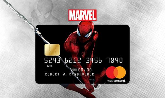 Marvel Mastercard Ⓒ 2020 MARVEL